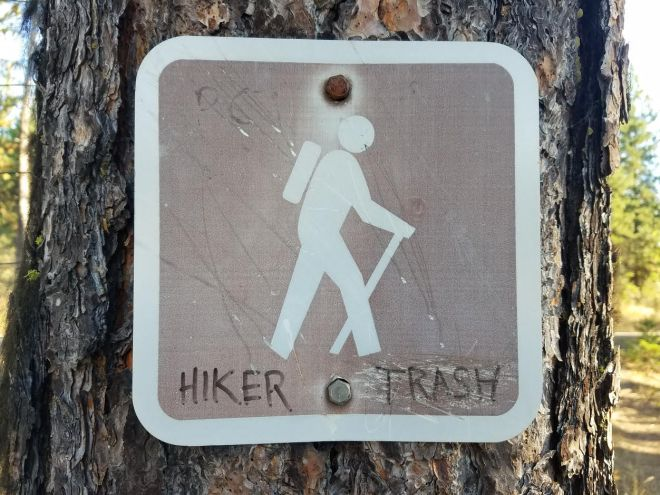 hikertrashsign