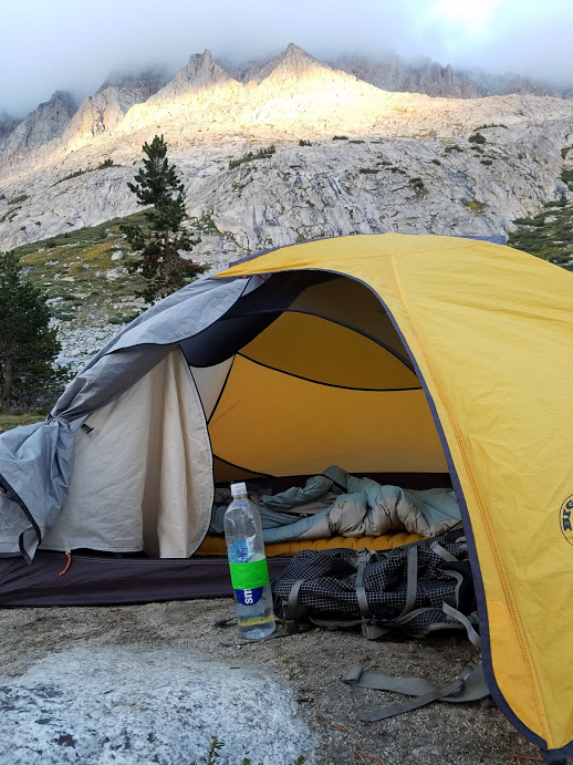 The Big Agnes Fairview 2 tent with the REI Womenu0027s Mojave sleeping bag and the Thermarest NeoAir XLite sleeping pad & The John Muir Trail: Gear Review and Post Trail Reflections ...